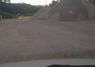 Fornecedor de areia e pedra para construção