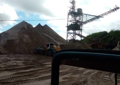 Fornecedor de areia para construção