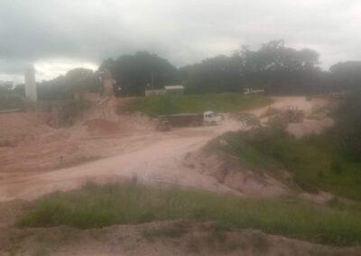 Pedreira fornecimento de areia e pedra